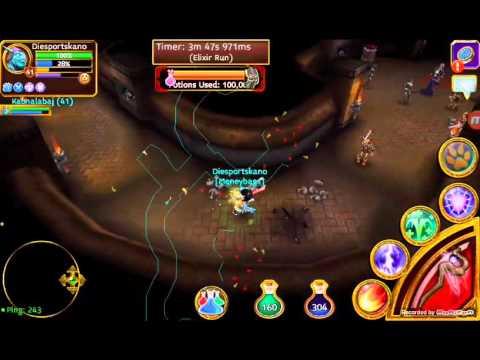 Arcane Legends/Kraken Mines 3/Duel