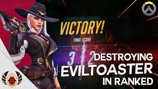 Destroying EvilToaster in Ranked