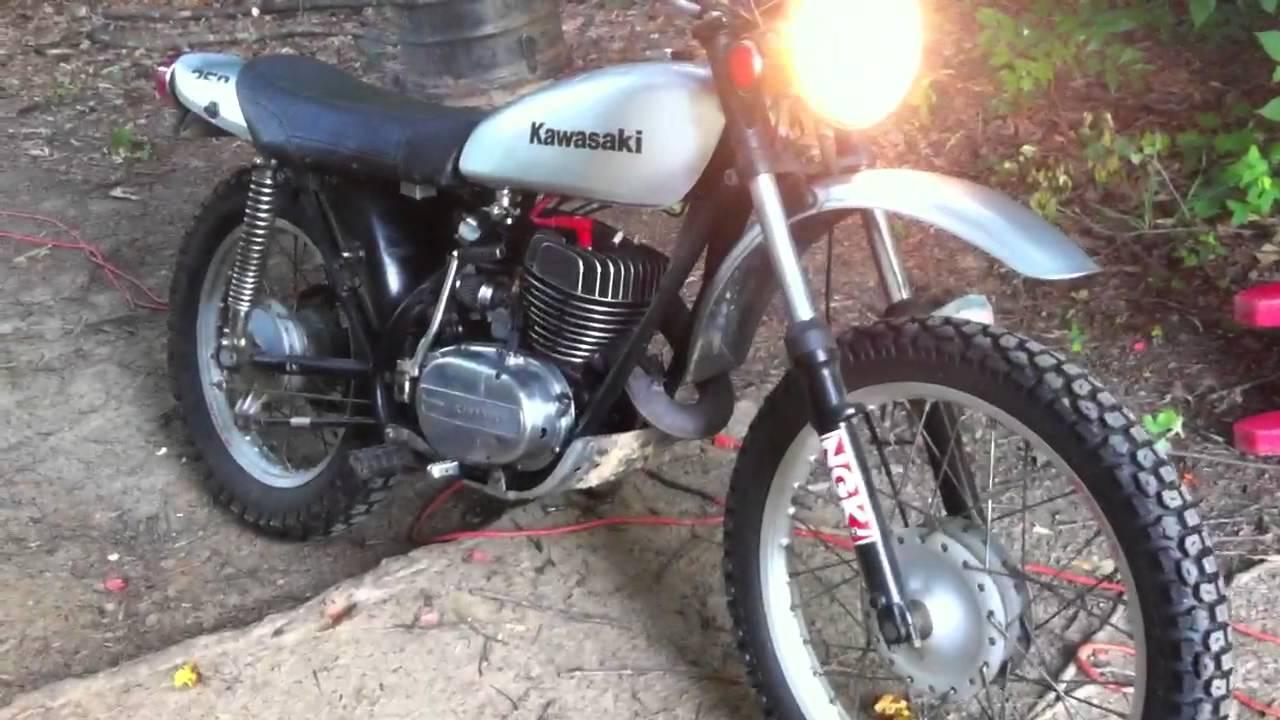 1975 Kawasaki F-11 250 - YouTube