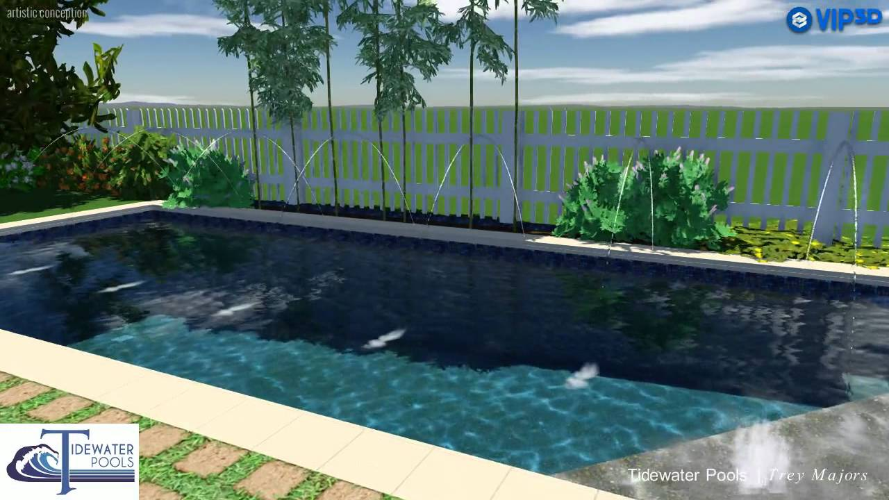 Vip3d 3d swimming pool design software youtube for 3d pool design software free