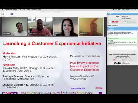 CX Day Latin America Panel Launching a Customer Experience Initiative