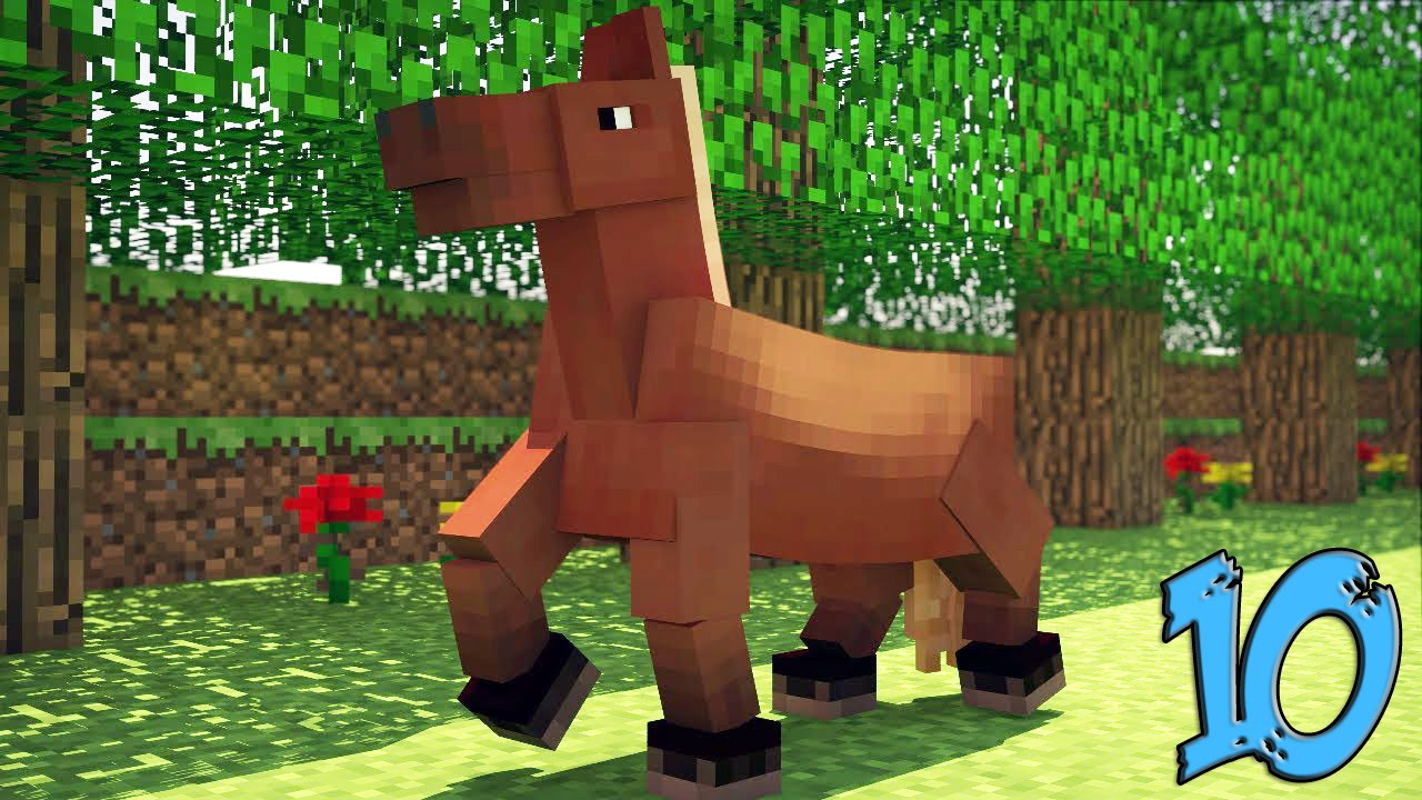 Minecraft - At Hakkında Bilinmeyen 10 Şey - YouTube