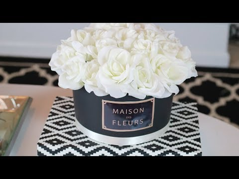 DIY Dollar Tree Flower Box Centerpiece