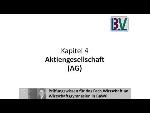 Aktiengesellschaft AG Kapitalgesellschaft [WG K04 T05]