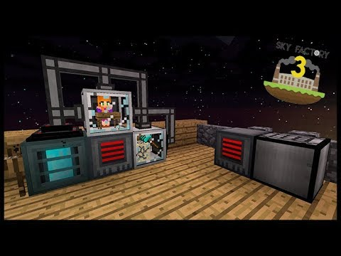 Produzindo Compressed Dust 100% Automático - Minecraft Skyfactory 05