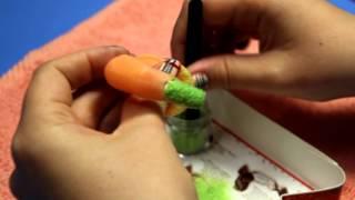 Дизайн Бархатные ногти. Дизайн гель-лак(, 2013-02-28T18:56:52.000Z)