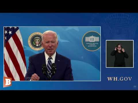COMMUNIST PUPPET AND DICTATOR Joe Biden: States Should Pause Reopening; Reinstate Mask Mandates