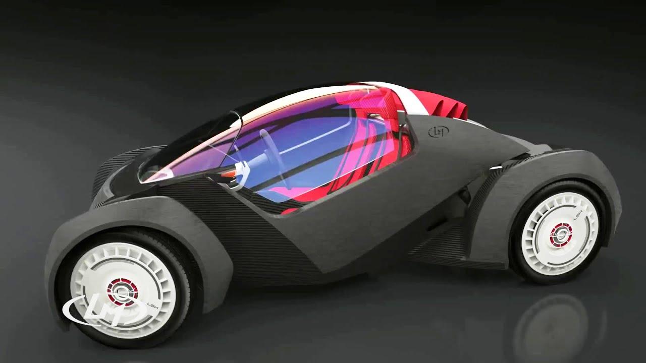 Local Motors Strati 3d Printed Car 1080p Youtube