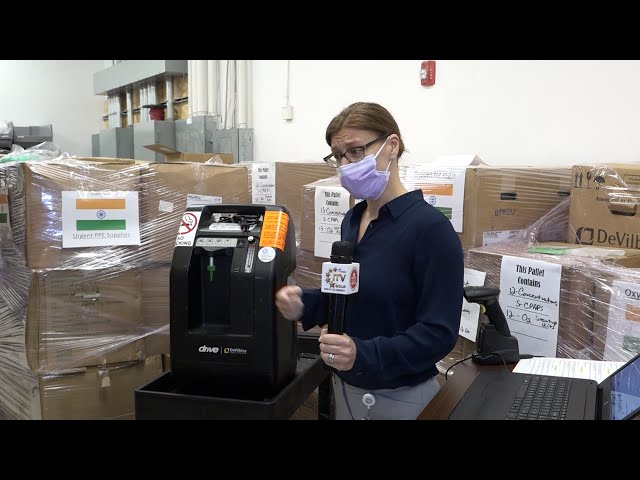 Hackensack Meridian Health Donates Oxygen and PPE Supplies to India - COVID-19 Pandemic Relief
