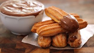 Homemade Churros (Baked Better than Fried?) & Hot Chocolate - Gemmas Bigger Bolder Baking Ep  69