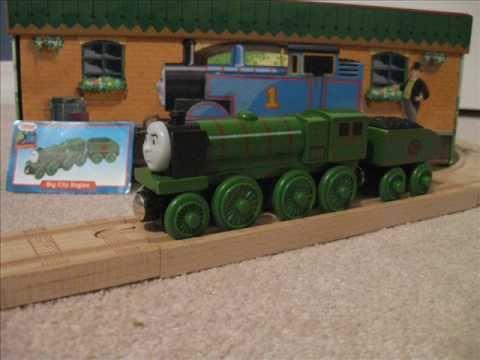 rare wooden thomas trains 2