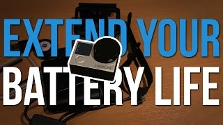 Increase your GoPro Battery Life by HOURS!