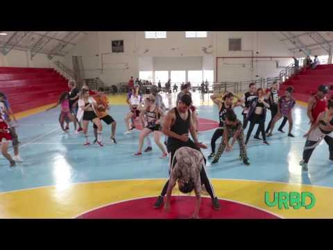 Workshop de Dancehall/Ragga com  Ariane Nogueira (MS) - Urbandance  Encontro de Danças Urbanas