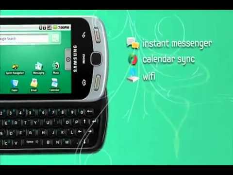 Samsung Moment - Smartphone