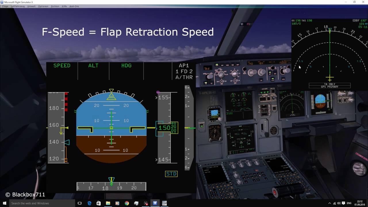 Fslabs A320 Take Off Calculator