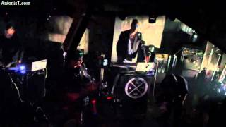 CLAN OF XYMOX -MUSCOVIET MOSQUITO - Live @ Death Disco / Athens - Greece 2016