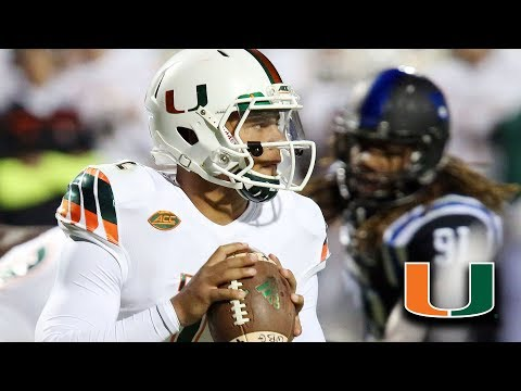 Miami Names Malik Rosier as Starting QB