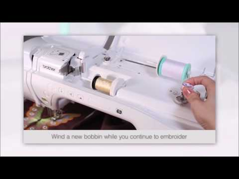 Brother Computerized Embroidery Sewing Machine Hyderabad - Innov-is V3