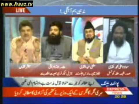 Point Blank   6th December 2010  Allama Ibtisam Elahi Zaheer part 2