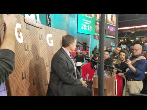 Bill Belichick speaks on Wes Welker becoming a coach (2017)