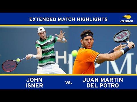 Extended Highlight: John Isner Vs. Juan Martin Del Potro | 2018 US Open, QF
