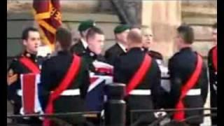 Funeral for Marine John Manuel