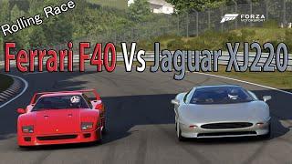 Forza Motorsport 6 - DRAG RACE: Jaguar XJ220 Vs Ferrari F40