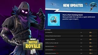 FORTNITE NEW PORT-A-FORT GRENADE + SEASON 3 WEEK 8 CHALLENGES! (FORTNITE NEW UPDATE)