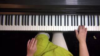 1. Dawn from Pride and Prejudice - easy piano tutorial
