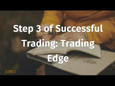 Step #3 of Successful Trading: Trading Edge
