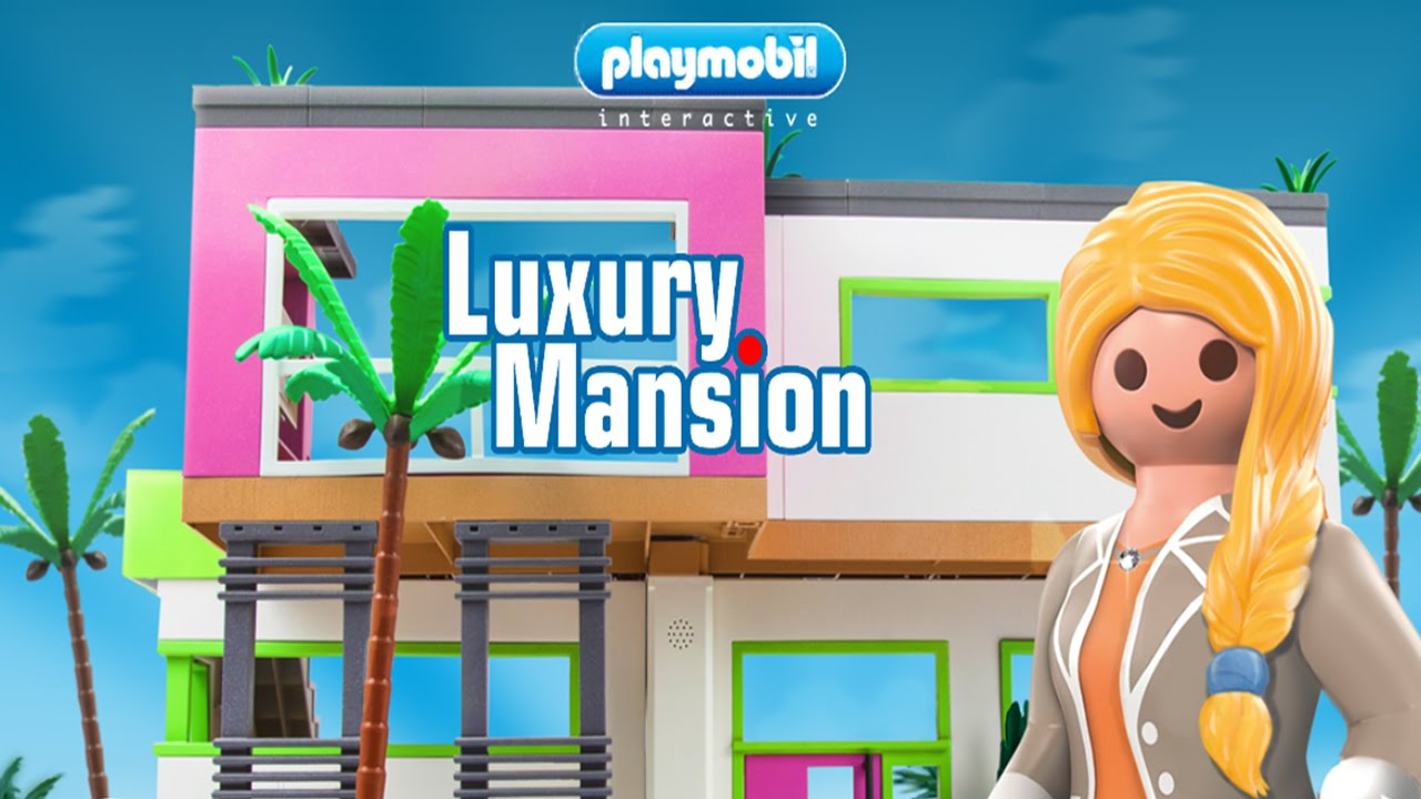 PLAYMOBIL Luxury Mansion (by PLAYMOBIL®) – iOS / Android – HD Gameplay Trailer