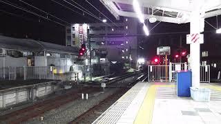 西武 001系 飯能駅到着 異音感知の当該列車