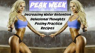PEAK WEEK: POSING PRACTICE, DECREASE WATER RETENTION, & DON