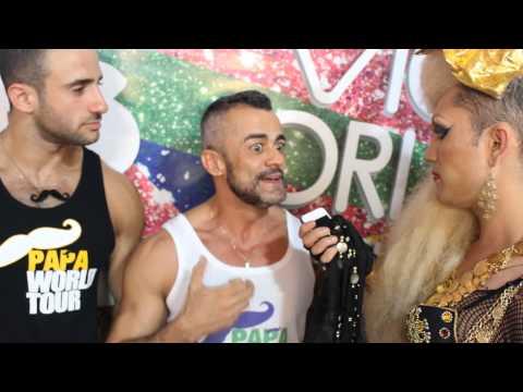 Papa Party in Brasilia - Interview by Aretuza Lovi / Victoria Haus