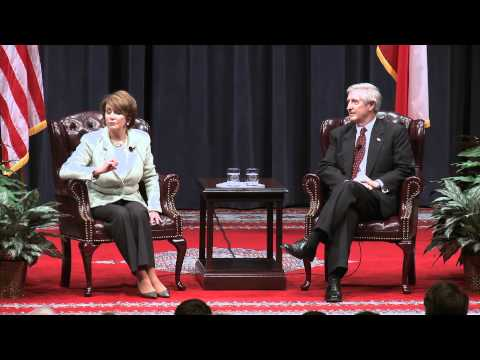 Nancy Pelosi Speaks at Texas A&M University