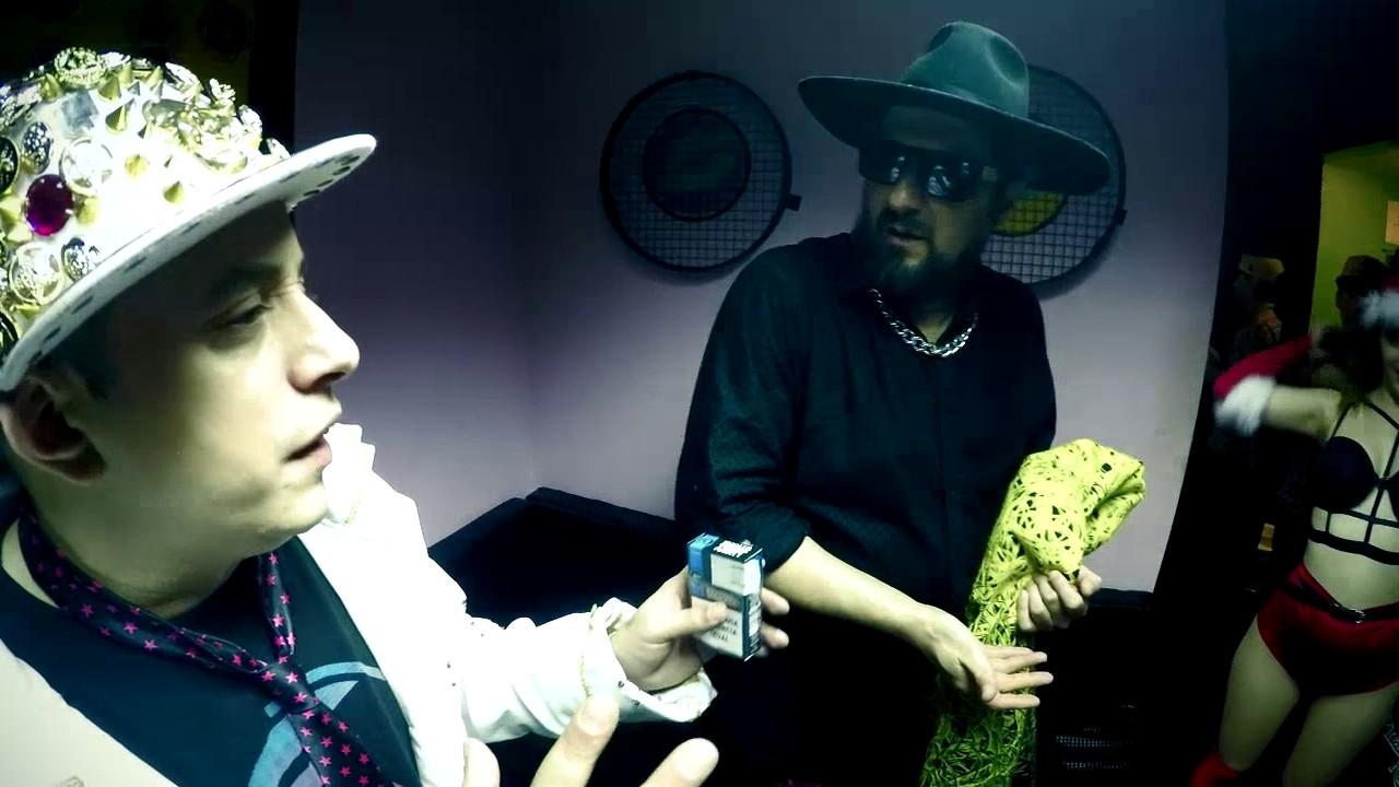 Download El Dipy & Cucho en Backstage de Video clip (Pinarde rocha)