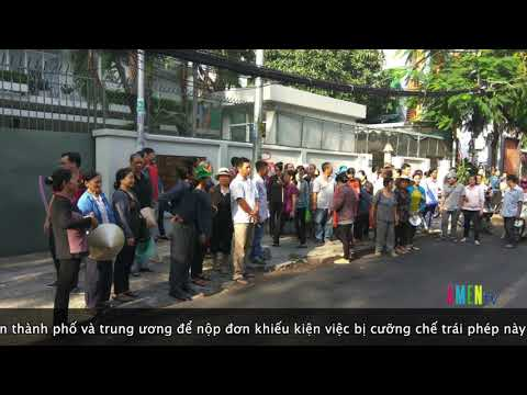 Cập nhật: Văn phòng đại biểu Quốc Hội Tp HCM khóa cổng không tiếp dân Lộc Hưng