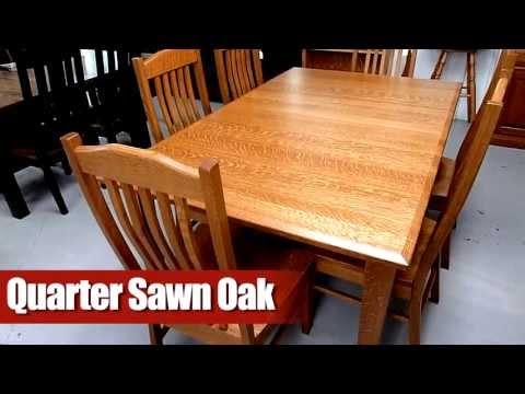 Amish Furniture Wood Type: Quarter Sawn Oak