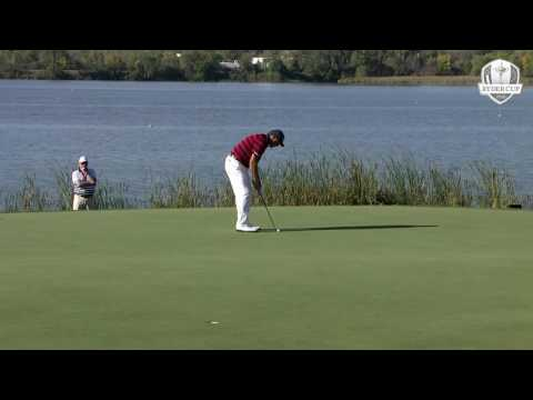 Ryder Cup 2016: Saturday Afternoon Fourballs Highlights