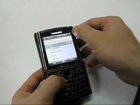 PDair Leather Case for Samsung Epix SGH-i907 - Flip Type (Black)
