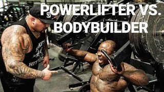 BODYBUILDER VS. POWERLIFTER | STRONG OR RIPPED???
