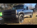 Transformation of my OBS 1996 Chevrolet K1500. Grandpa truck to Sick OBS