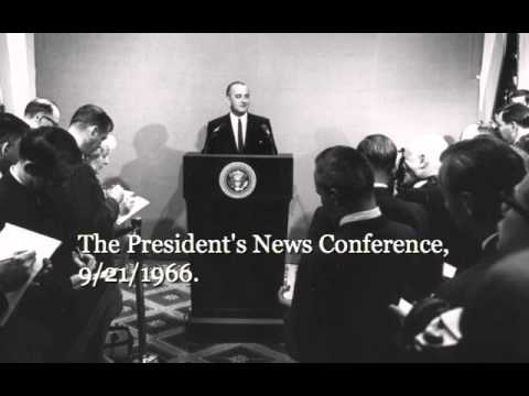 The President's News Conference, 9/21/66.