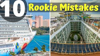 10 Ways Rookies Waste Money on Cruises