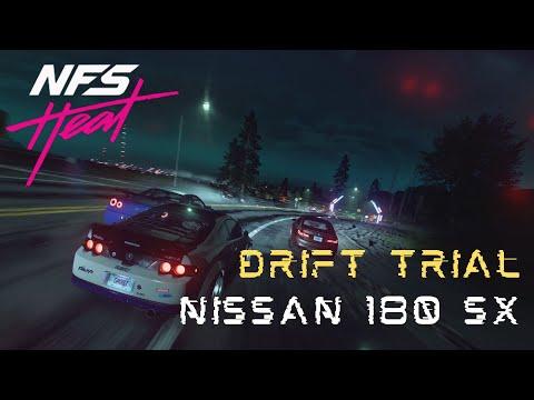 Need For Speed Heat Gameplay 2020 | Drift Trial Helvegen | Nissan 180SX | PS4 Games