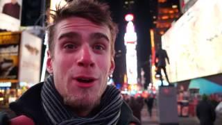 Привет семье Иовенко с Times Square