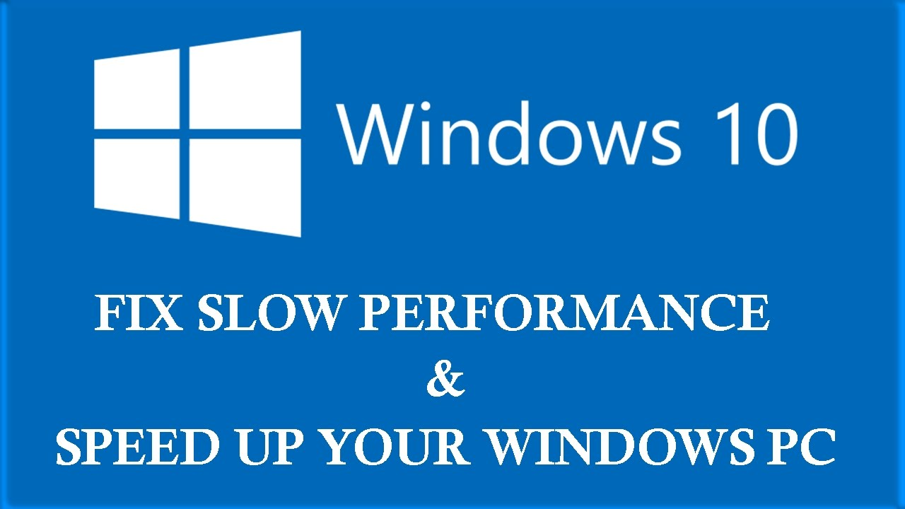 Windows 10: How to fix slow performance issue after free update