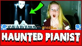 SPOOKY Ghost Plays Piano On Omegle Prank!! (Reactions) thumbnail