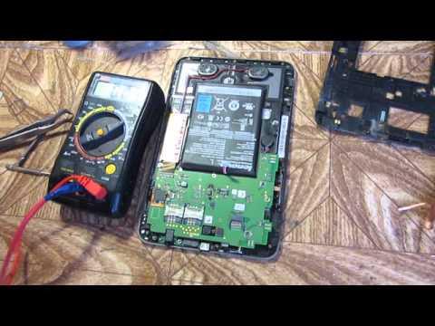 ремонт гнезда питания планшета Lenovo