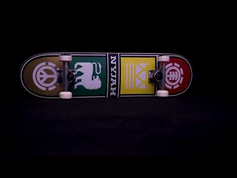 Element Nyjah Quad Twig Skateboard 7.6